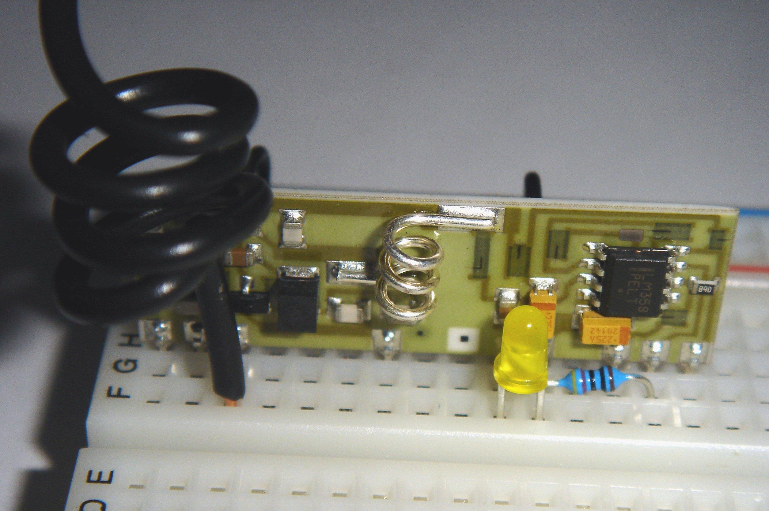 Slepecká hůl - Arduino na šikmé ploše
